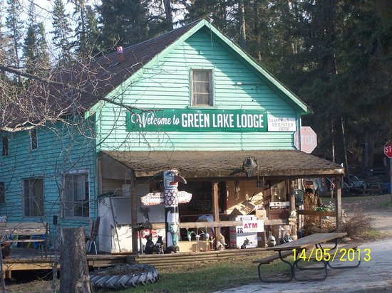 Genial Green Lake Lodge Store. Cabin #12 Rental