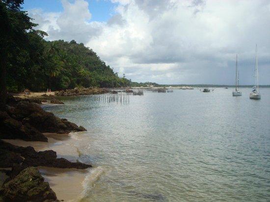 Gamboa Beach: Camino hacia Gamboa