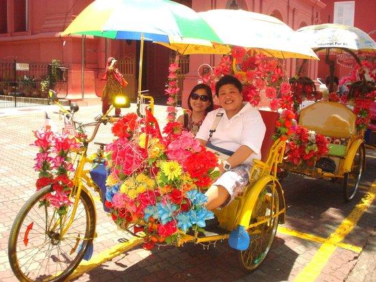 Malacca Heritage Centre: Becak ride around town