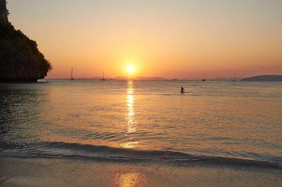 Railay Bay Resort & Spa: Вид моря со стороны отеля