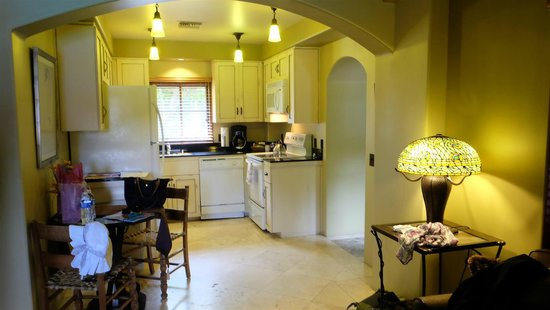 The Andalusian Court: kitchen view