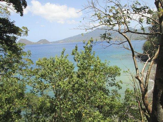 Secret Bay : View from Ti-Fey