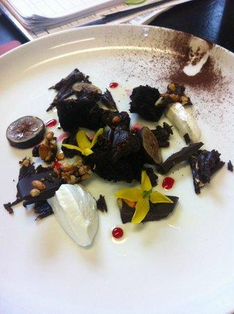 Cafe Adam Restaurant : fig, chocolate, yogurt