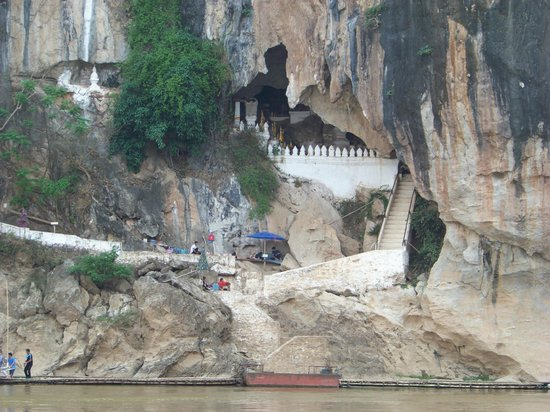Tham Ting: Cave entrance