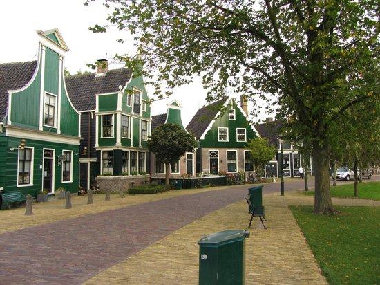 Zaanse Schans : Традиционные домики Заансе Сханс