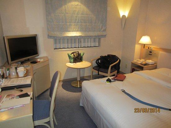The New Hotel Kumamoto : my room