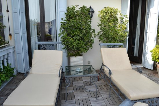 The Westin Europa & Regina, Venice: Private Terrace