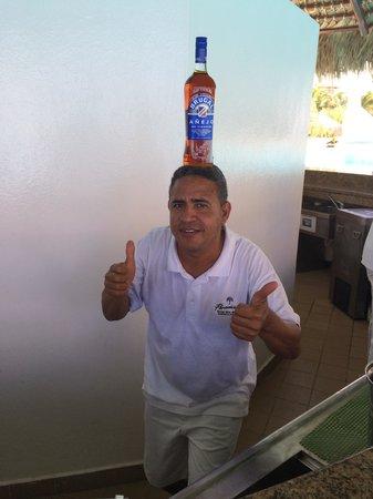 Paradisus Palma Real Golf & Spa Resort: Ramon Fuego!!!! Hombre fantastico!!!!