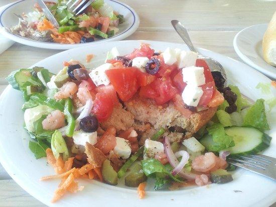 Fito Aqua Bleu Resort: Griechischer Salat