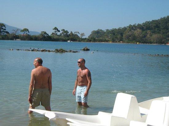 Orka Club Hotel & Villas: Billys beach
