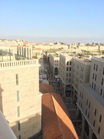 Mamilla Hotel: The view from the sun roof