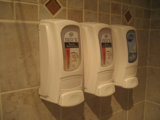 Best Western University Inn : bathroom shower wall