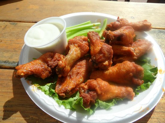 Paradise Grille: Chix wings