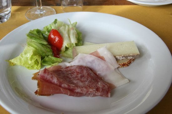 Walkabout Florence Tours: Appetizer - all made on the farm