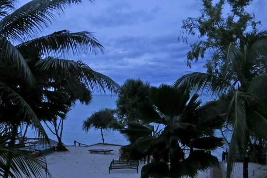 Mnarani Beach Cottages: View from room
