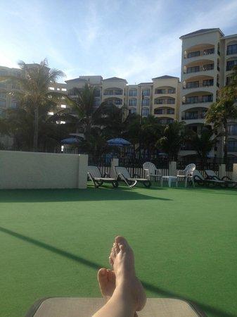 The Royal Caribbean : Sun deck