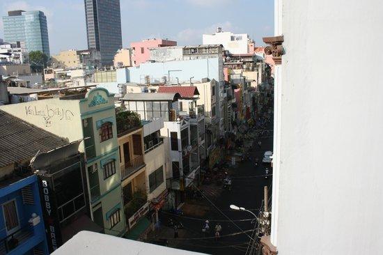 Seventy Hotel: Вид с балкона