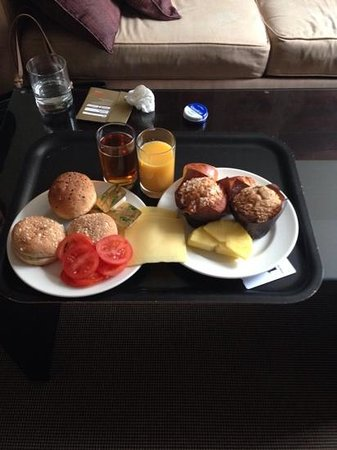 K West Hotel & Spa: breakfast