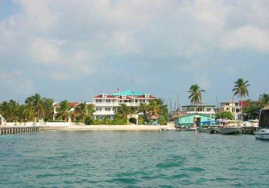 Blue Tang Inn From Ocean