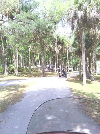 Manatee Hammock Campground: Path to the Indian river