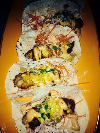 Barbacoa Bali: Fish tacos