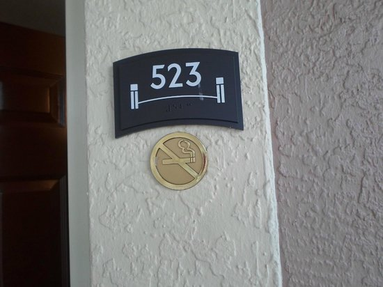 Staybridge Suites Lake Buena Vista : Habitacion del 2do piso cercana al estacionamiento