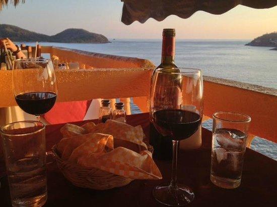 Ristorante Il Mare: Our table