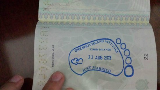 One Foot Island: il nostro passaporto