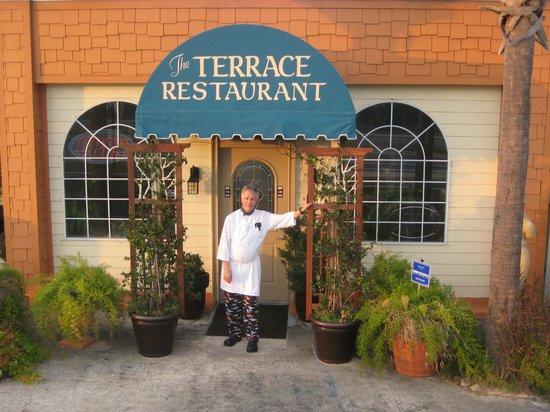 Terrace Restaurant Chef Thomas The Man