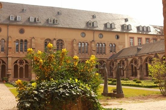 St. Peter's Cathedral (Dom): garden in dom