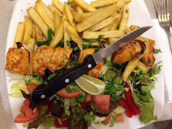 Gaby's Deli : Chicken kebab