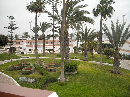 Hotel Club Al Moggar: Giardini