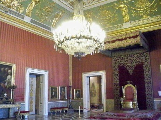 Palazzo Reale : Sala del trono
