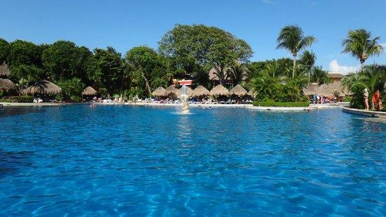 Iberostar Tucan Hotel : Pileta, una de sus tantas vistas