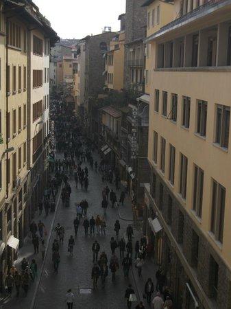 Hotel Por Santa Maria: Dalla finestra