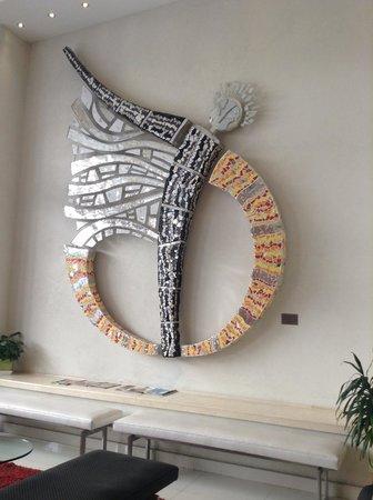Icaro Suites : Part of Icaro's foyer