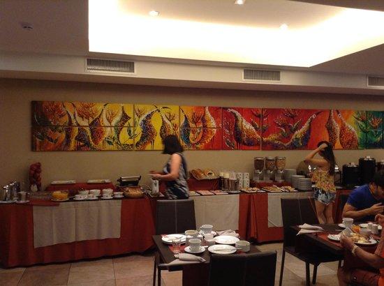 Icaro Suites: The breakfast served at Icaro