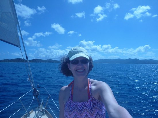Morningstar Sailing and Power Charters : Enjoying the sail over to St. John's
