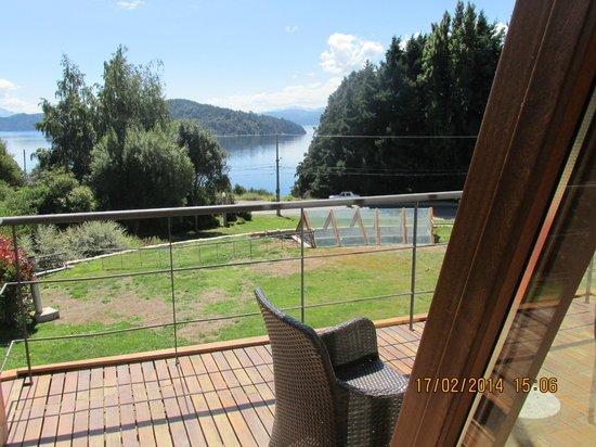 Rochester Hotel Bariloche : vista desde balcon