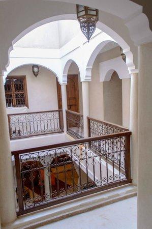 Riad Cherrata - view from upstairs