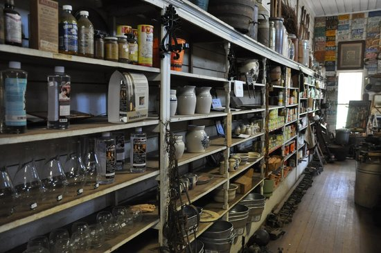 T. C. Lindsey and Co. General Store: Inside store