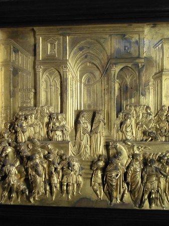 Museo dell'Opera del Duomo : Particolare della porta del Paradiso