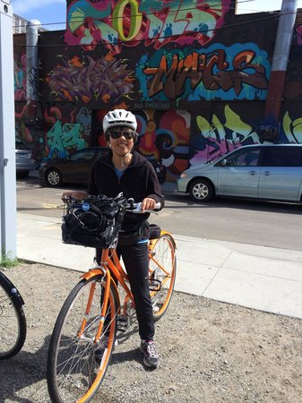 Streets of San Francisco Bike Tours : Me with my buddy for the day - Clementine!