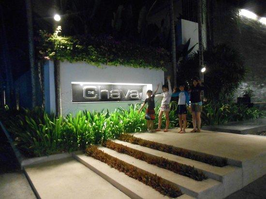 The Chava Resort: ホテル入口