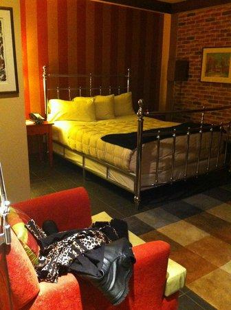 Le Champlain Hotel: Chambre