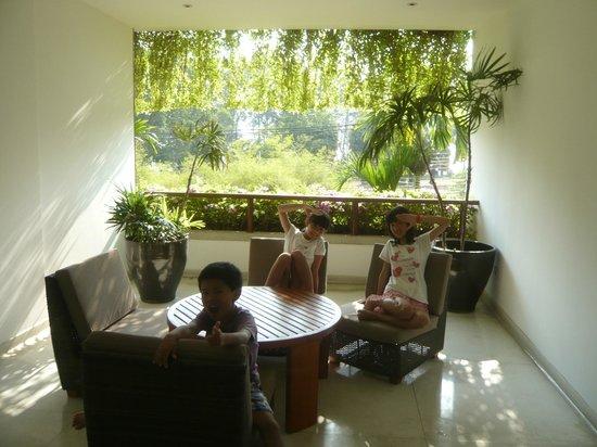 The Chava Resort: ベランダ