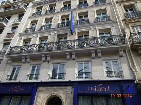 Great boutique hotel picture of hotel original paris for Hotel original paris amoureux