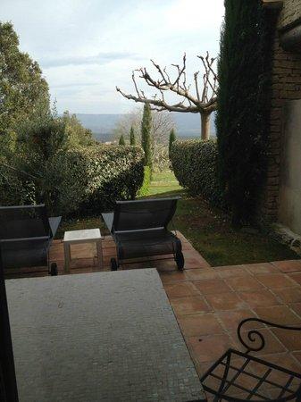 Hotel Les Bories & Spa : Terrasse