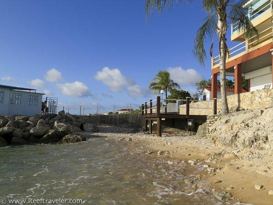 Den Laman Condominium: From the beach