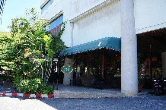 Royal Phuket City Hotel: Entrance to Hotel Restaurant